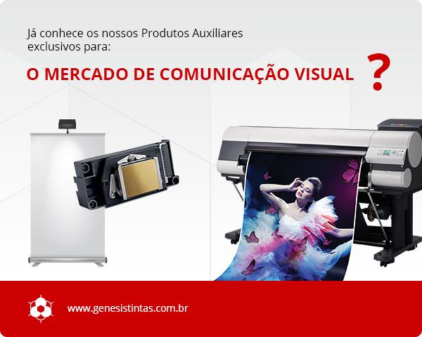 Produtos para o mercado de Comunicação Visual
