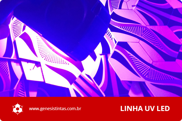 Serigrafia Cura UV Led