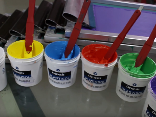 Plastisol Free Super Macio - Tintas Serigráficas para Carrossel