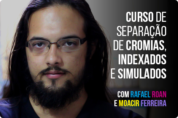 Curso Presencial de Separação de Cromias, Indexados e Simulados com Rafael Roan