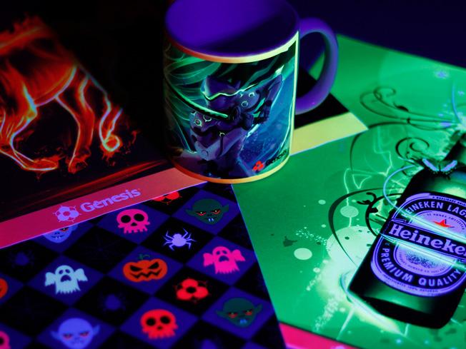 Cores Fluorescentes para Sublimação Digital