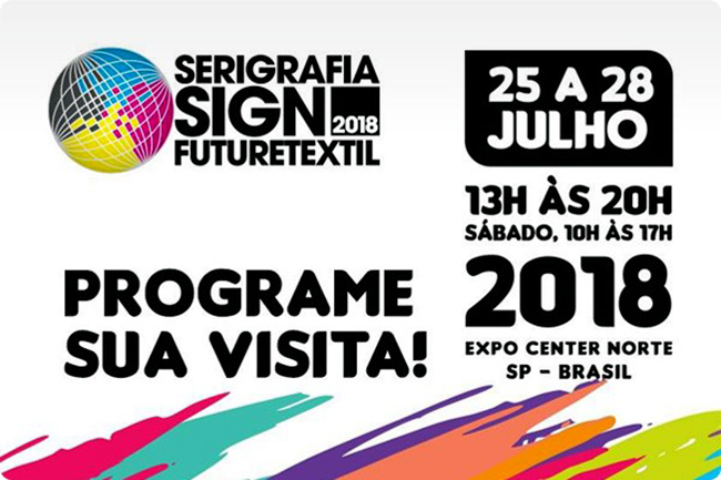 Serigrafia SIGN Future TÊXTIL 2018